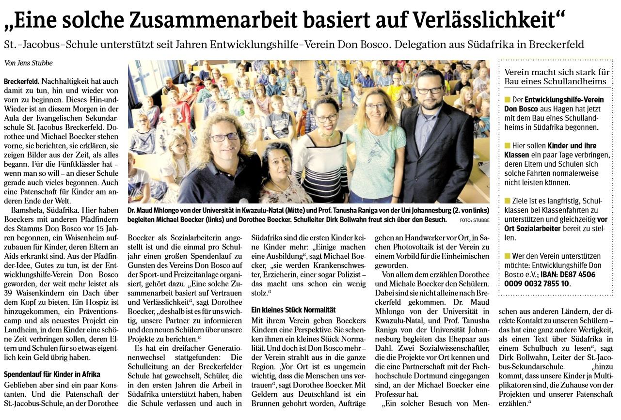 Sekundarschule Breckerfeld : Evangelische Sekundarschule Breckerfeld